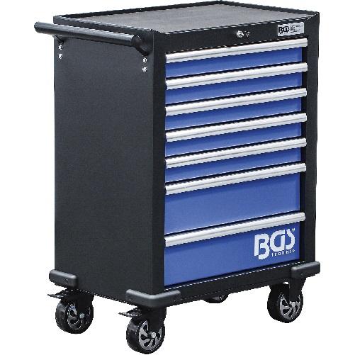 Vozík dielenský, 7 zásuviek, prázdny, 994 x 699 x 458 mm, BGS 4204